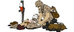 Wounded Warrior - Support our Military Troops