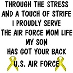 Air Force Mom - My Son Has Got Your Back Poem