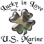 Lucky in Love with a US Marine with clover