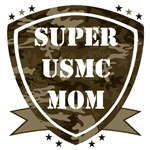 Super Marine Mom and Dad T-shirts and Gifts