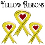 Military Support Yellow Ribbon T-shirts & Gifts