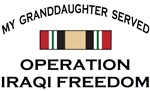 Military Granddaughter Served - OIF