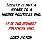 liberty is highest