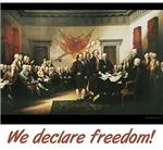 We declare freedom!