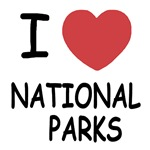 I heart national parks