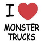 I heart monster trucks
