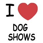 I heart dog shows