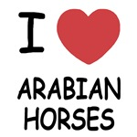 I heart arabian horses