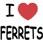 I heart ferrets