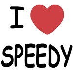 I heart speedy