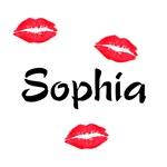 kiss sophia