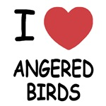 I heart angered birds