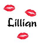 Lillian kisses
