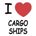 I heart cargo ships