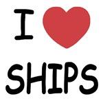 I heart ships