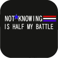 Half my battle