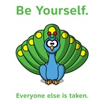 Peacock Be Yourself
