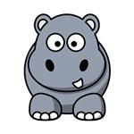 Cartoon Hippopotamus