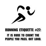 Running Etiquette