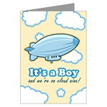 It's a Boy Birth Announcement Cards