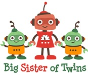 Big Sister of Twins - Retro Robot