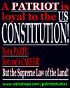 A Patriot is Loyal to the Constitution-Not a Party