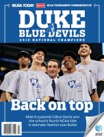Duke - 2010 NCAA Men's Basketball Champ