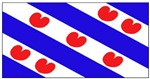 Friesland Frisian Blank Flags