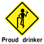 Warning  Proud Drinker  cool shirts