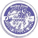 Bourbon St Water Meter Lid