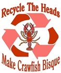 Recycle The Heads: Crawfish Bisque