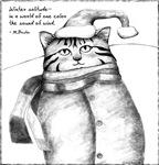 Holiday Haiku Cat