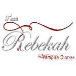 Team Rebekah The Vampire Diaries Raven Ribbon