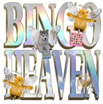 Bingo Heaven Text Animals Husky