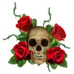 Skull Rose bed