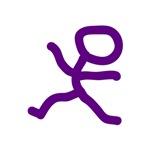 Leap Dancer Purple