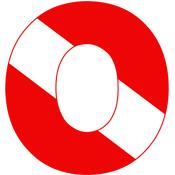 Scuba Flag Letter O