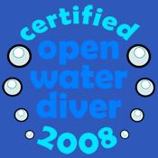 Open Water Diver 2008