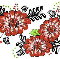 Petrykivka Flowers I