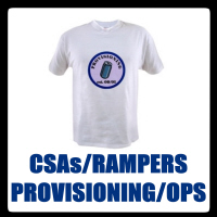 CSAs, PROVISIONERS, RAMPERS