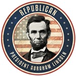 Republican President Abraham Lincoln