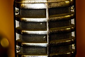 Classic Show Business Microphone