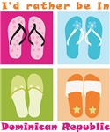 Happy sandals: I'd rather be in DR