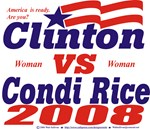 Clinton vs Condi Rice
