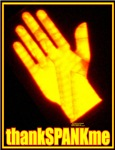thank spank me hand