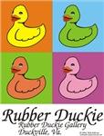 Rubber Duckie warholism1