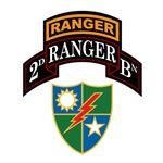 2d Ranger Bn w/Crest