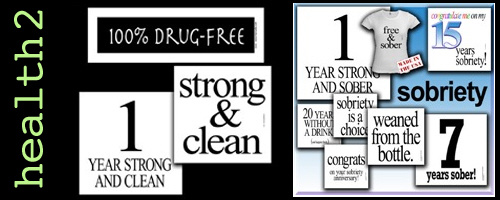 Sobriety Clean Sober Drug Free T-shirts Gifts