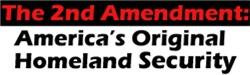 2nd Amendment = Homeland Security