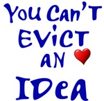 Occupy Boston Slogan - You Cant Evict an Idea